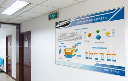 北京轨道交通展板设计-北京意典展板设计公司goidea